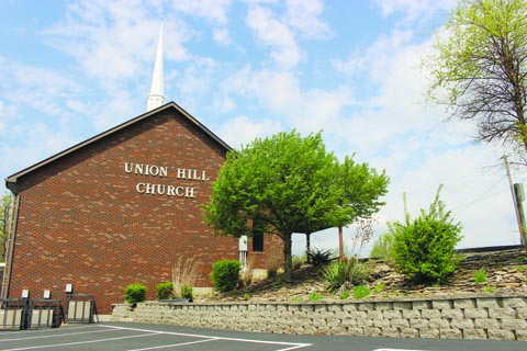 The Union Hill Church has been a gathering place for family and friends since the slayings in Pike County last Friday. The church is within three miles of the murder scenes on Union Hill.