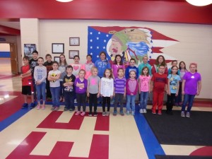 Peebles Elementary recently named its Students of the Month for March. They are pictured here in no particular order: Pre-School- Gordon Hass and Emma Garrison.=; Kindergarten- Kendall Myers, Sharon Clark, Paysen Shiveley, and Khloe June Setty; First Grade- Faith Campbell, Dameon Meyer, Roxanne Finzel, and Damon Brown; Second Grade- Madison Purvis, Samantha Scott, Ryne Warren, and Annabelle Cutler; Third Grade- Gracie Pollitt, Katie Richmond, Mahaylee Swayne, and Emma Perdue; Fourth Grade- Alexis Lynch, Kylie Schumacher, Kennedy Dick, and Ellie Stephens; Fifth Grade- Abbagale Doss, Dawson Lambert, Madison Knauff, and Karlie Wolford; Sixth Grade- Mackenzee Hamilton, Dylan Malcom, and Luke Durbin.