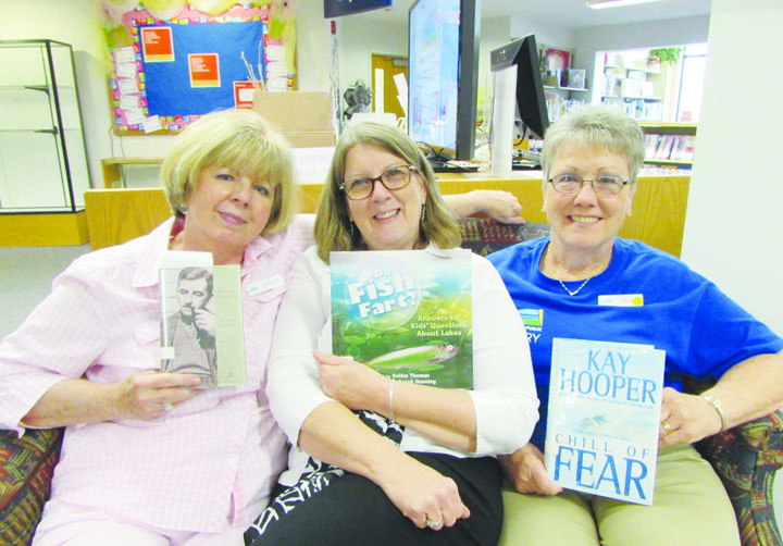 What are you reading? Peebles Library staff Jeannie, Robyn, and Bev share a few good books.