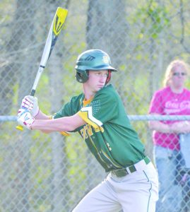 Colt Shumaker is one of the returnees who could have an impact on the 2017 North Adams baseball squad.  Photo by Mark Carpenter.