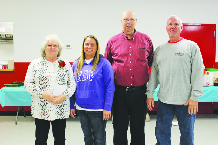 From left, Sheila Browning, Jayme Eldridge, Dean Bailey, and Danny Pertuset.  Photo by Patricia Beech