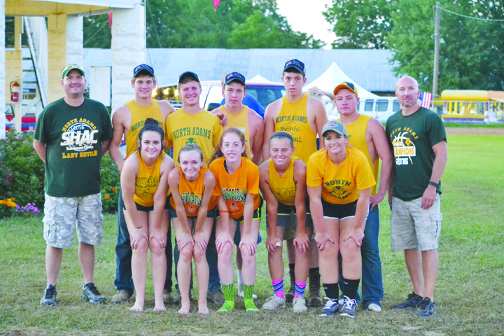 North Adams High School placed fourth in the Barnyard Olympics and collected a $125 prize.
