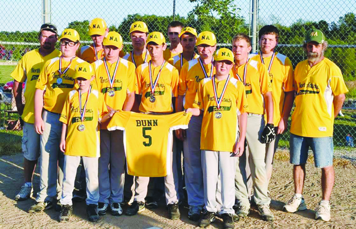 "Runners-up in the SHYL ""B"" Baseball Tournament were the North Adams Devils."