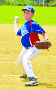 """A determined Chayston Shields from Ripley delivers a pitch during the """"C"""" League All-Star Game on a warm Saturday afternoon at the West Union Rec Park."""