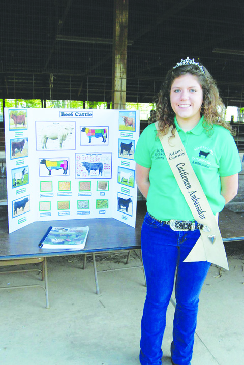 2016 Beef Ambassador Madison Siders.