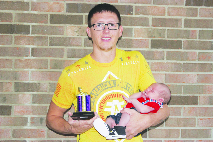 First place in the Boys 0-4 months category went to Devin Reeves.