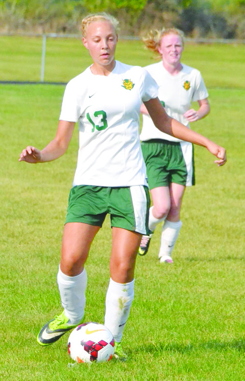 Allison Harper is one of five seniors returning this season to provide leadership to the North Adams Lady Devils girls soccer squad.  The Lady Devils open their regular season on Aug. 20 at Minford.