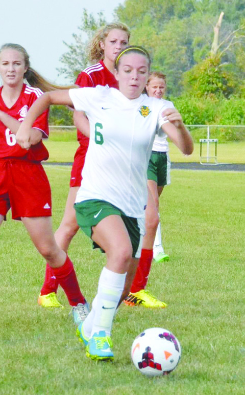 After scoring 24 goals in her sophomore season, junior Lakyn Hupp looks to again pace the North Adams offense.