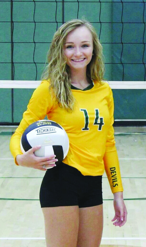 North Adams senior Maddie Toole picked up her 1,000th career dig in the Lady Devils' season-opening win over Southeastern Ross.