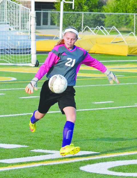 Junior and co-captain Madee Shipley will again handle the goalkeeping duties for the North Adams Lady Devils.