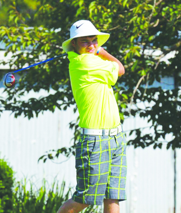 WU's Jacob Pell was one of the match play winners  on Aug. 30 at the Adams County Country Club.