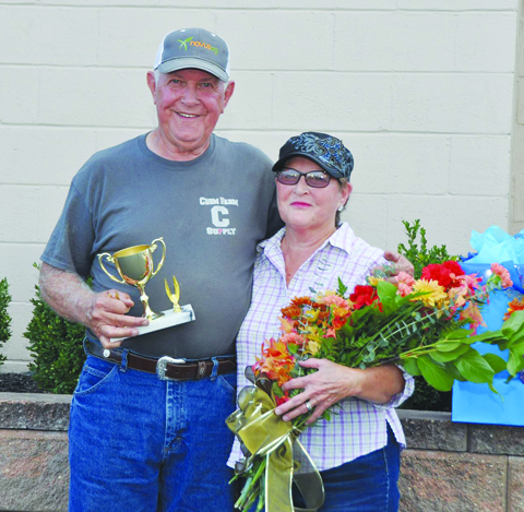 Dan and Sue Fristoe were chosen as the 2016 Old Timer's Day Couple.