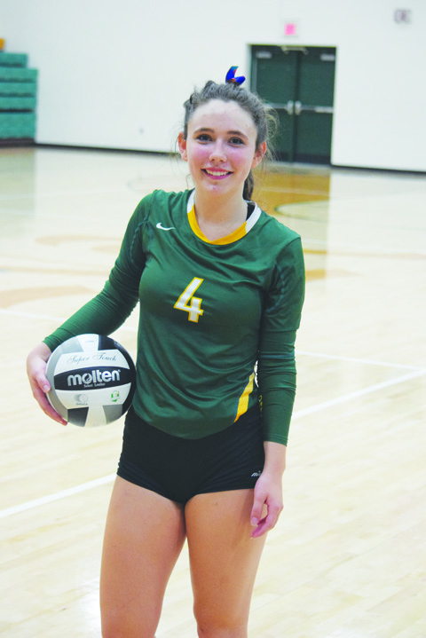 North Adams junior setter Sydney Kendall picked up the 1,000th assist of her high school career during the third set of the Lady Devils' win this week over Manchester.