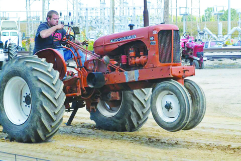 Tractor Pulls are always a big part of the annual Seaman Fall Festival.
