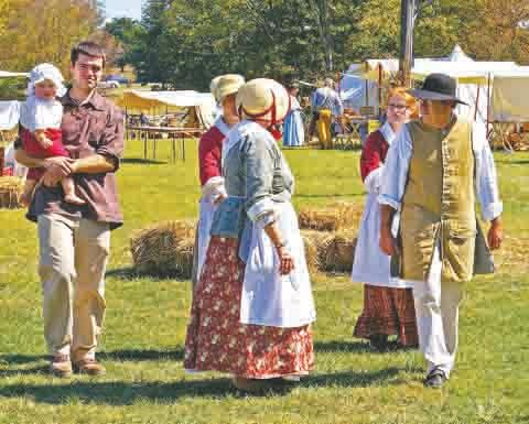 Pioneer dress is encouraged for attendees at this year's Adams County Pioneer Days.