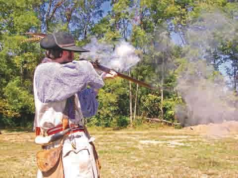 Many kinds of flintrock rifles will be fired during Adams County Heritage Days.