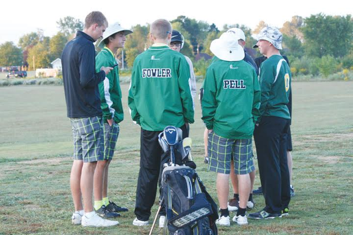 "It hasn't happened before but it has happened. Never had two golf teams from Adams County qualified for the state tournament in the same season, until last Monday's Southeast District Division III District Tournament changed all that. Three Teams from the county were part of the 18-hole district event, and two of them will be ""moving on up"" as George Jefferson might say, as the West Union Dragons and the North Adams Green Devils saw their seasons extended for that treasured one more week, with both heading to the state tournament. Three full teams from the county made it into district play, as the Manchester Greyhounds joined West Union and North Adams, along with individual golfer Bostin Robinson from Peebles. When the fog had lifted and the sun came out, it was the Dragons on the course looking to make a return trip to the state tournament, where they finished ninth in 2015. The top two teams in the district along with the top two individuals not on one of those qualifying move on to state action. As they have been most of the season, the Dragon golfers were paced by the play of junior Elijah McCarty, who shot 37 on the front nine and 42 on the back nine for a total of 79, placing him tied for second in the overall individual standings, trailing medalist Derek Lemley of Chesapeake (76) and even with Western's Broc Jordan (79). Coming in next for West Union senior Tyler Fowler, who went 40-42 for an 82 overall. Sophomore Jacob Pell shot 84, senior Craig Horton 85, and junior Eli Fuller 92. The total team score for the Dragons was 330, 12 strokes better than second place North Adams, but earning both teams the right to advance. ""Our boys played well today,"" said West Union head coach Carl Schneider. ""Elijah was clutch with a second place finish and Tyler really showed some senior leadership putting together a solid 82. Jacob played well on the back nine after struggling on the front and Eli also played a great back nine. Craig had a rough start being nine over through six holes but he rallied to shoot one over for the next 11 to save a nice round."" ""The kids have really worked hard this year knowing that not having a trip back to state would be a disappointment. Having North Adams also qualify for state will make the trip much more fun, as both teams are great friends and enjoy golfing with each other. Playing together at districts I think helped both teams relax."" ""We played a practice round earlier at North Star, where state is held,"" Schneider continued. ""The kids will be familiar with the course and it is a links style course and seemed to fit our players very well. It would be nice to bring home a top five finish in the state."" The Green Devils were led by the play of senior Patrick England who handled the front nine in 42 and the back nine in 39 for an 81 that placed him tied for third in the individual standings. Junior Colt Shumaker stepped up his game at the right time at the district tourney, shooting an 86, second-best on his squad for the day. Junior Bryant Lung shot an 87, followed closely by junior Noah Lung at 88. Sophomore Carson Hall rounded out the Devils on the course with a 108. The North Adams team total of 342 was good for second place overall and a trip to the state, topping third place Adena by 17 strokes. ""In any sport a coach sets his or her goal for the season to go to state and compete for a state championship,"" said North Adams head coach Ammon Mitchell. ""North Adams High School now has that opportunity. From the first day of practice, our team slogan was 'State Bound.' After every good shot, I would hear the boys say 'State Bound.' I am so proud of our team and it is truly a blessing to be a part of this memorable season."" ""I am also proud of West Union because they advanced to state again. There are 12 teams that compete at the state level and two teams are from the same school district just miles apart. I'm not sure anybody in the state of Ohio can say that. I want to thank all the parents, boosters, and our community because without all their support we could never have accomplished our goal."" Manchester finished eighth in the overall team standings and were led by sophomore Dylan Colvin, who shot 44 front and 46 back for a 90 total. Fellow sophomore Logan Hayslip was close behind at 92, with senior Justin Aldridge closing out his career with what he described ""as a terrible round"", shooting 99 for the 18 holes. Freshman Zach James shot 100 with junior Jalen James slipping to 106. Peebles' Robinson, a junior, had a very respectable day in district play, shooting 42 on the front nine and 40 on the back for an 82, which left him just one spot away from qualifying for state as an individual golfer. Now for West Union and North Adams, a week of nerves and thought await as they prepare to compete with the best in the state on the golf course, something they have been preparing for since the first day of coaching back on Aug. 1. The Division III Tournament will be played on Oct. 14-15 at the North Star Golf Club in Sunbury, with 18 holes being played each day for a 36-hole state final. The teams will be allowed on the course on Oct. 13 for a practice round, which should help make them more familiar with the course and calm a few of the nerves. The defending team champion in Division III is Lancaster Fisher Catholic and the individual winner in 2015 was Danville's Brayden Baldridge, who shot a 152 over 36 holes."