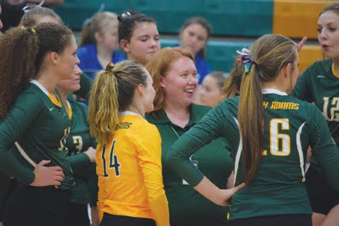 Coach Katie Ragan and her North Adams Lady Devils will take a number three seed into the Division III sectionals and be in action on Oct. 22.