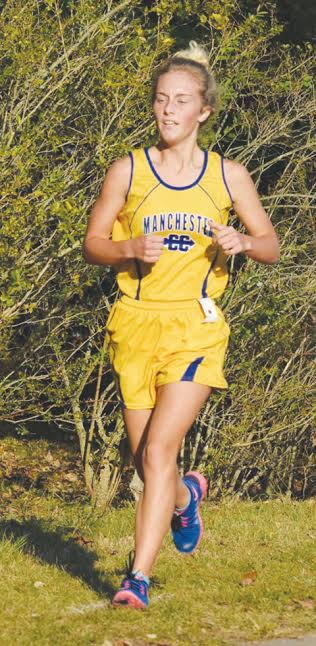Manchester senior Shyanne Tucker will be taking her talents on to this weekend's regional cross-country race, qualifying in the district meet at Rio Grande.