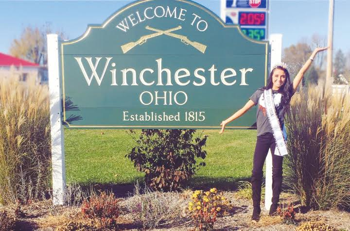 Winchester native and 2010 North Adams graduate Dinaleigh Baxter was recently crowned Miss Ohio USA and is quick to credit all of her success to her Adams County and family roots.