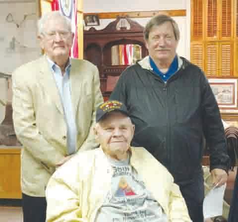 Left to right, Ernest McFarland, Russell Pollitt, and Steve Zinser.