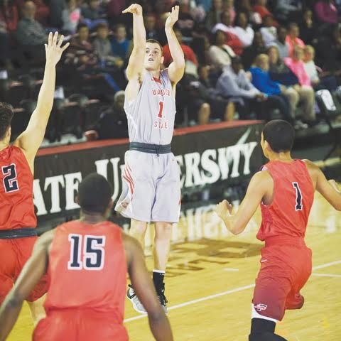 Peebles High School graduate Beau Justice is the second leading scorer for the 2016-17 Valdosta Blazers through five games.  Justice is averaging 15.4 points, with a high of 31 in a Nov. 26 contest.