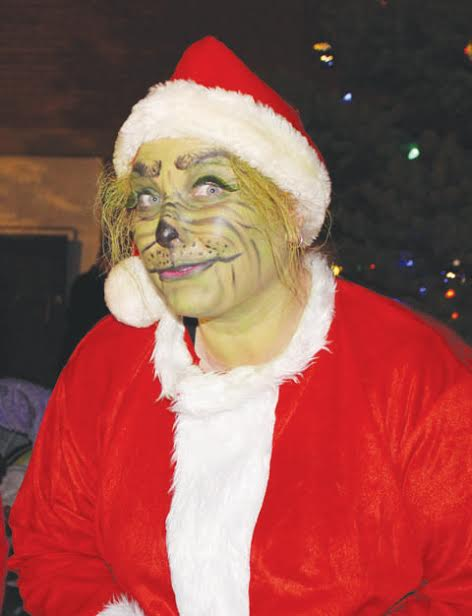Not everyone in attendance at the Peebles Hometown Christmas was there to spread their holiday cheer.