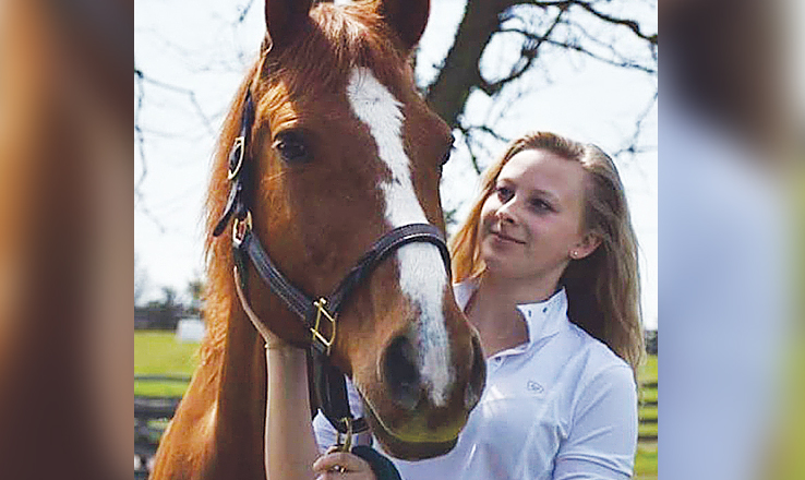 Gracie Roades and her horse, Andy, will be competing at the state level, the sixth time for Gracie.