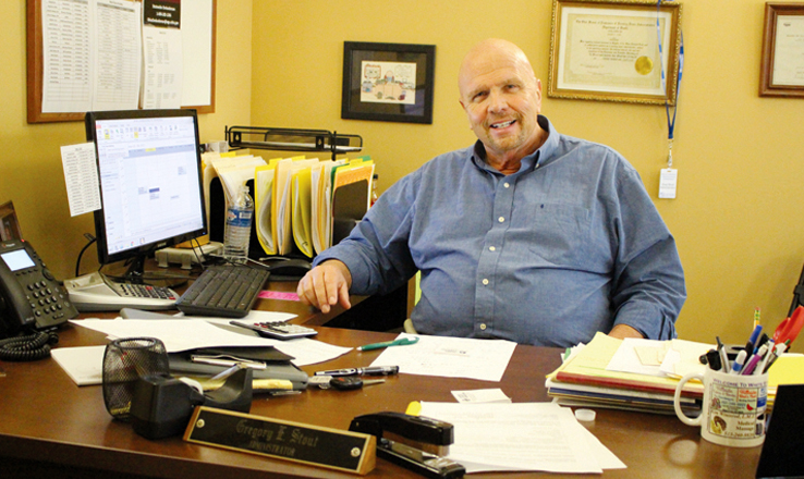 Greg Stout of Winchester is the new administrator of the Monarch Meadows nursing facility, located in Seaman.