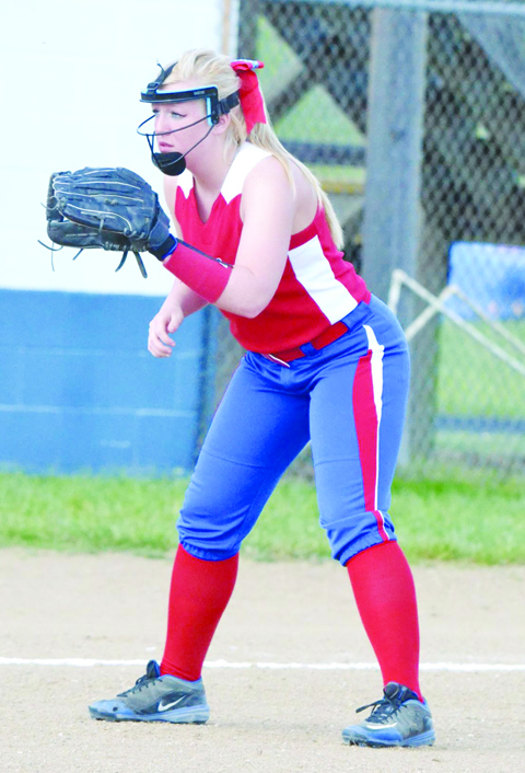 Peebles senior Kaitlin Toller was named to the Division IV All-District First Team