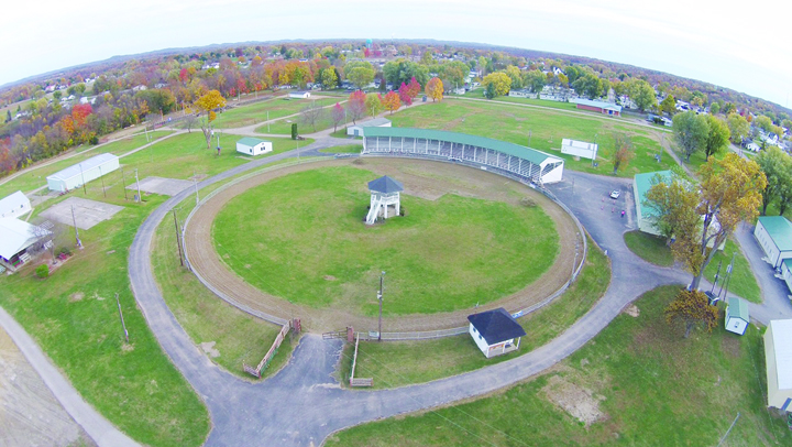 A $50,000 matching grant from the Ohio Department of Agriculture will assist the Adams County Ag Society with six new projects at the Adams County Fairgrounds.  Photo by Caleb Grooms.