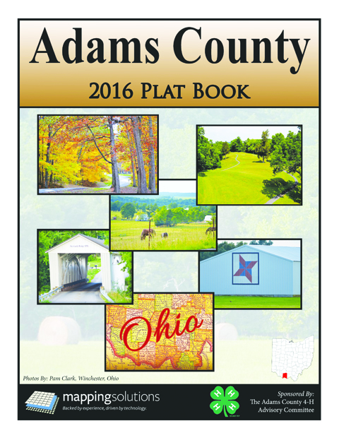 The new 2016 Adams County Plat Books have arrived and can be purchased for $25 at OSU Extension Adams County during regular office hours.