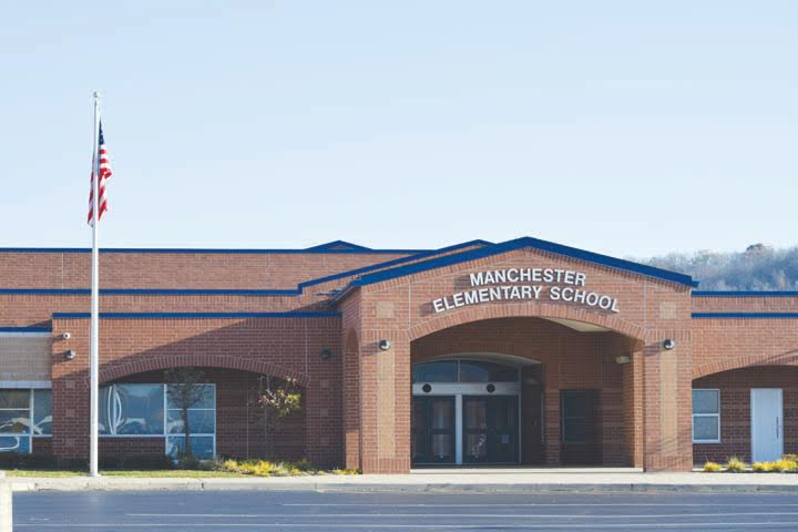 The administration and staff at Manchester Elementary School was recently honored with the 2016 Momentum Award from the State Board of Education.